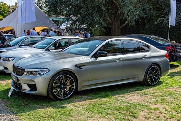 BMW M5 Competition 2018 fl3q