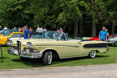 Edsel Pacer convertible coupe 1958 yellow fl3q