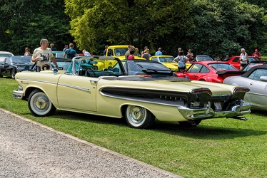 Edsel Pacer convertible coupe 1958 yellow r3q