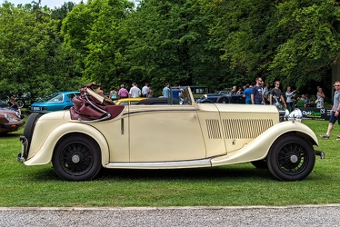 Rolls Royce Phantom II sedanca coupe 1934 side