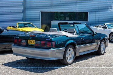 Ford Mustang S3 GT 5.0 convertible coupe 1992 r3q