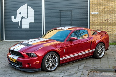Shelby Ford Mustang S5 GT-500 2014 fl3q