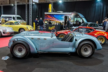 Healey Silverstone V8 Cunningham special 1949 side