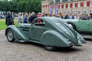 Lancia Astura S2 230 1933 aerodynamica coupe rebody by Castagna 1934 r3q
