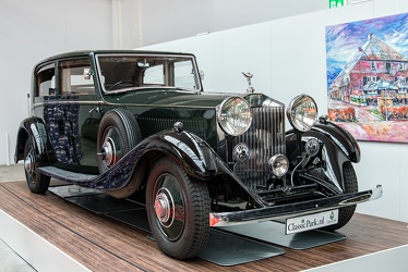 Rolls Royce Phantom II sports saloon by James Young 1934 fr3q