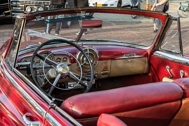 Pontiac Chieftain 8 DeLuxe convertible coupe 1950 interior