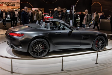 AMG Mercedes GT C R190 roadster Edition 50 2017 side