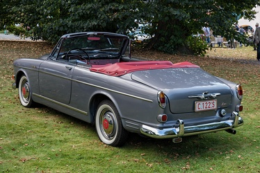 Volvo P130 122 S Amazon cabriolet by Jacques Coune 1963 r3q