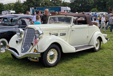 Hudson Challenger Series LTS convertible coupe 1934 fl3q