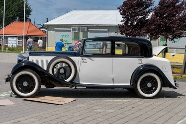 Rolls Royce 20/25 HP sport saloon by Park Ward 1933 side