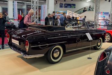 BMW 502 3.2 Liter Super 4-door cabriolet by Autenrieth 1960 r3q