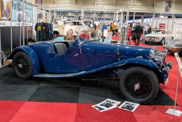 Alvis Speed 20 SB competition 2-seater by Mulliner 1934 side
