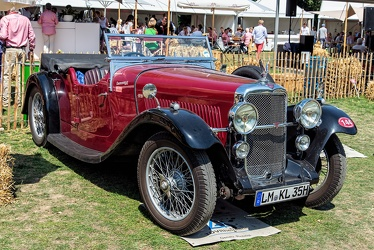 Alvis Silver Eagle SG tourer by Cross & Ellis 1935 fr3q