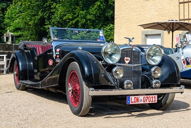 Alvis Speed 25 SC tourer by Cross & Ellis 1938 fr3q