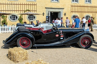 Alvis Speed 25 SC tourer by Cross & Ellis 1938 side