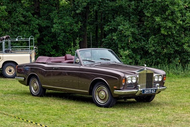 Rolls Royce Silver Shadow convertible by Mulliner Park Ward 1970 fr3q