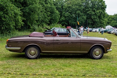 Rolls Royce Silver Shadow convertible by Mulliner Park Ward 1970 side