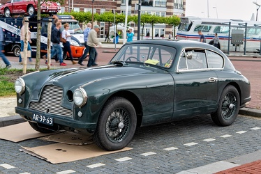 Aston Martin DB 2/4 Mk I competition saloon 1954 fl3q