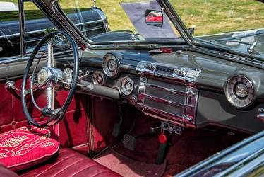 Buick Roadmaster convertible coupe 1948 interior