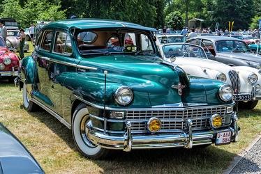 Chrysler Windsor Highlander 4-door sedan 1948 fr3q
