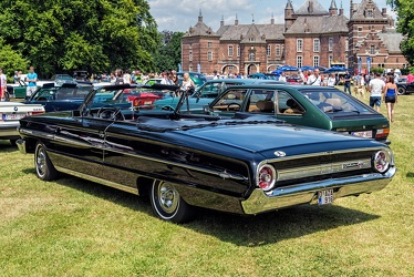Ford Galaxie 500 XL convertible coupe 1964 r3q