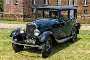 Peugeot 201 berline 1930 blue fl3q