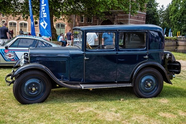 Peugeot 201 berline 1930 blue side