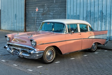 Chevrolet Bel Air 4-door sedan 1957 fl3q