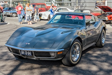 Chevrolet Corvette C3 Stingray coupe 1972 grey fl3q