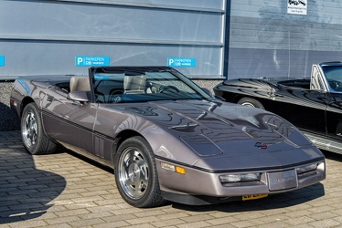 Chevrolet Corvette C4 convertible coupe 1989 fl3q