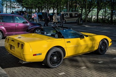 Chevrolet Corvette C4 convertible coupe 1991 r3q