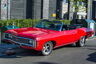 Chevrolet Impala 396 convertible coupe restomod 1969 fl3q