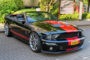 Shelby Ford Mustang S5 GT-500 convertible coupe 2008 fr3q