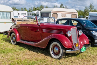 Buick Series 40 cabriolet by Kellner 1934 fr3q