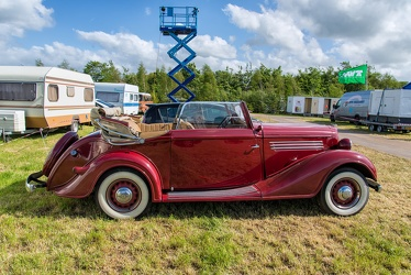 Buick Series 40 cabriolet by Kellner 1934 side