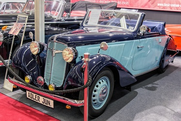 Adler Trumpf Junior Type 1E roadster by Karmann 1938 fl3q
