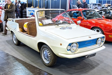Fiat 850 Shelette spider by Michelotti 1970 fr3q