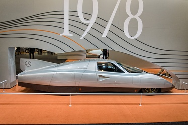 Mercedes C111-3 record car 1978 side