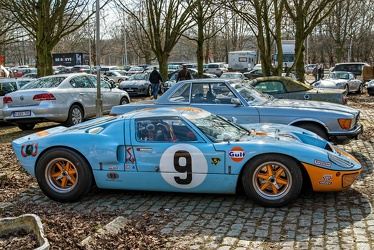 Ford GT40 Mk I Mirage 1968 replica side