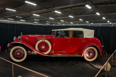 Minerva AK 32 CV custom sports phaeton by Saoutchik 1928 side