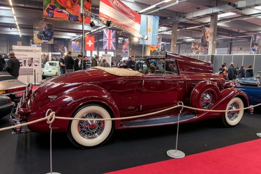 Packard 1407 Twelve coupe roadster 1936 side
