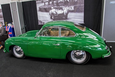 Porsche 356 1500 coupe by Reutter 1953 side