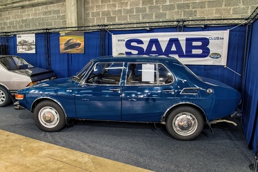 Saab 99 L 2.0 4-door sedan 1973 side
