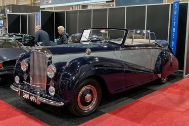 Bentley Mk VI DHC by Park Ward 1950 fl3q