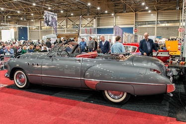 Buick Super convertible coupe 1949 side
