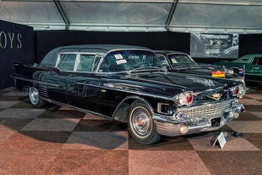 Cadillac 75 formal sedan by Derham 1958 fr3q