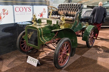 Cadillac Model K runabout 1907 green f3q