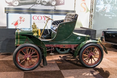 Cadillac Model K runabout 1907 green side