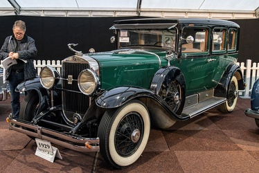 Cadillac Series 341 A V8 4-door sedan by Fleetwood 1928 fl3q