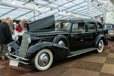 Cadillac Series 370 D V12 imperial sedan by Fleetwood 1934 fl3q